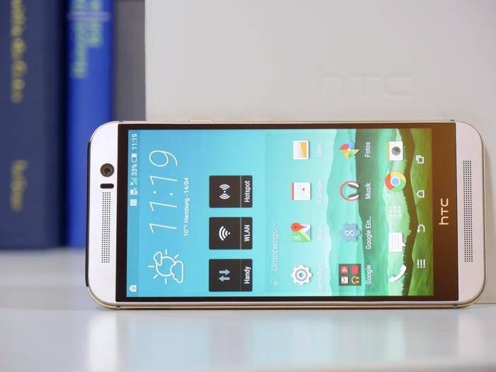 Ein Ladenhüter für HTC? Das One M9 verkauft sich schlecht.