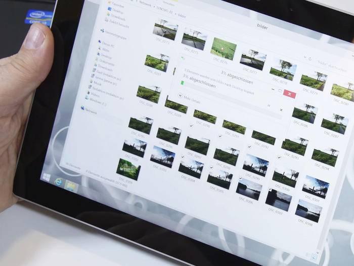 Daten zwischen PC und Surface 3 austauschen