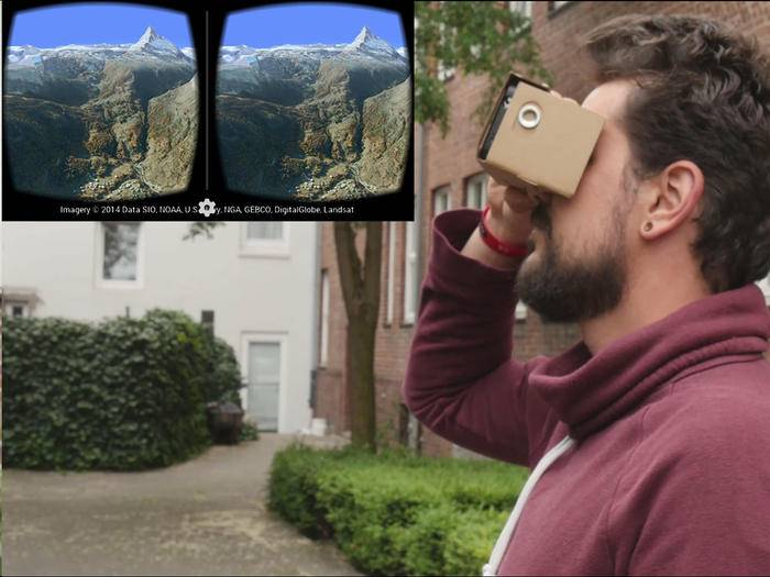 Mit Google Cardboard kann man Virtual Reality einfach und schnell selbst erleben.