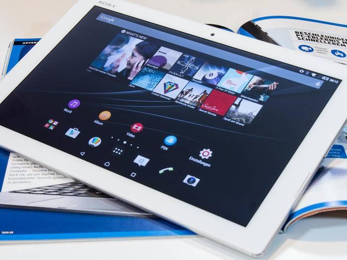 Das Xperia Z4 Tablet musste sich in unserem Test beweisen.