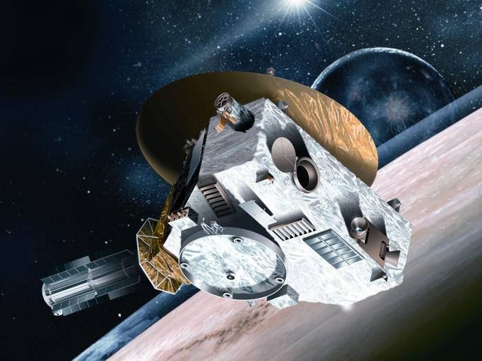"""In der Pluto-Sonde """"New Horizons"""" steckt ein Prozessor aus der ersten PlayStation von 1994."""