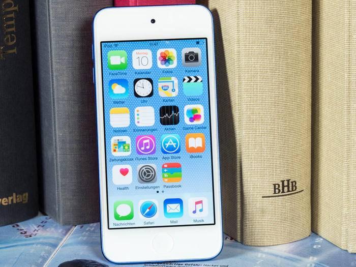 Der iPod touch 6G bietet auch Zugriff auf Apple Music.