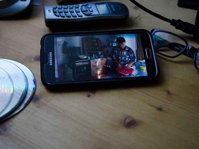 Man kann mit seinem Android-Smartphone auch fernsehen.