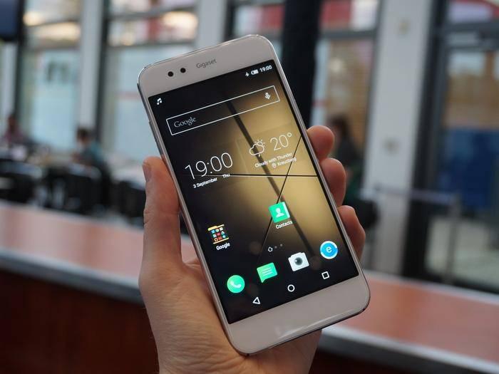 Das Gigaset ME ist das erste Android-Smartphone aus Deutschland.