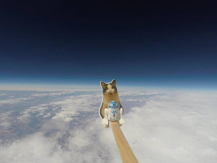 GoPro im Weltraum