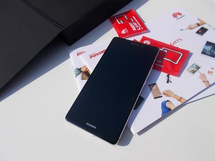 Das Huawei Mate S macht einen äußerst hochwertigen Eindruck.