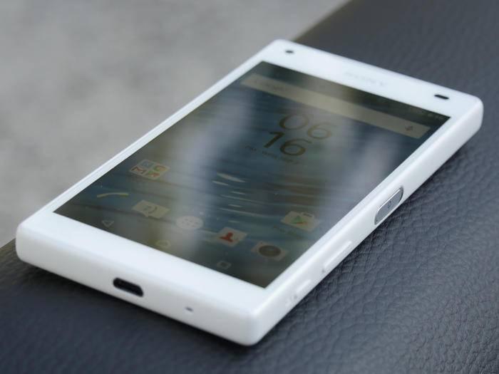 Das Sony Xperia Z5 Compact ist der kleineste Ableger im neuen Lineup.