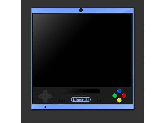 Ein Konzept zu einem Gaming-Tablet von Nintendo.