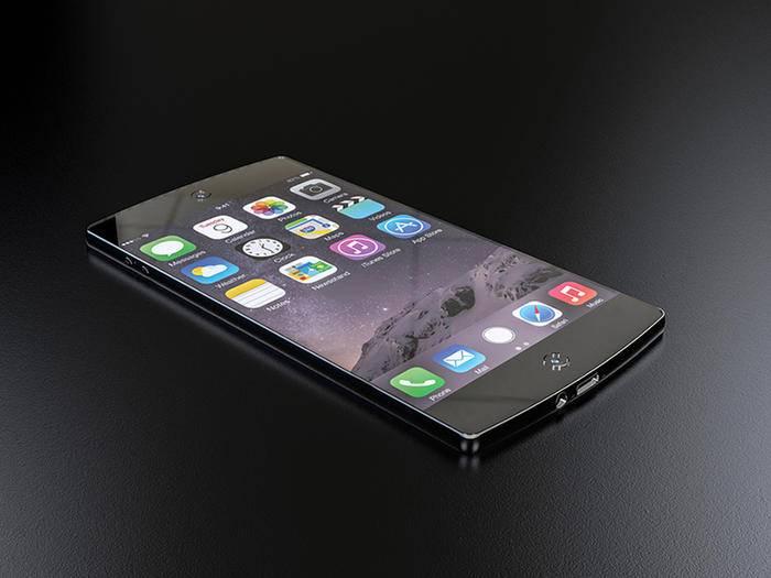 Schick, aber wenig realistisch: das iPhone 7-Konzept von Dusan Djokic.