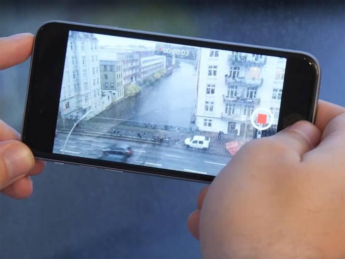 So nimmst Du Videos in 4K auf Deinem iPhone 6s auf.