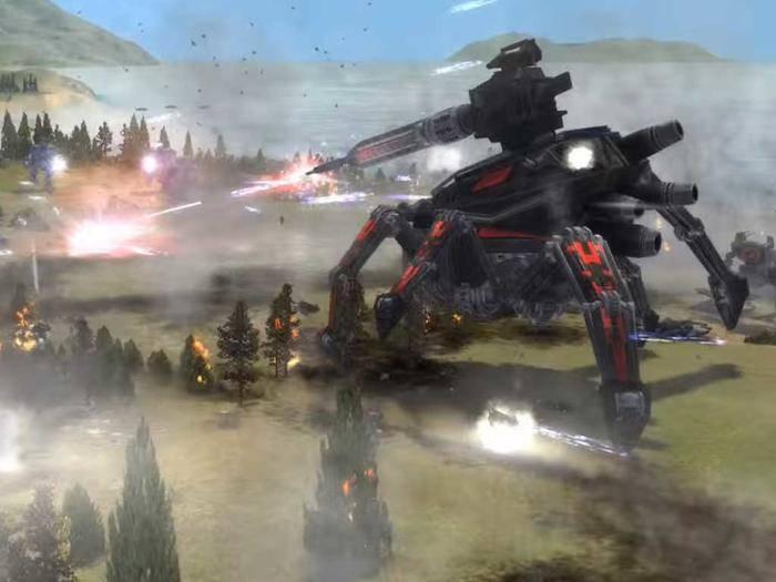 """""""Supreme Commander"""" ist auch Jahre nach dem Erscheinen noch eine Herausforderung für PCs."""