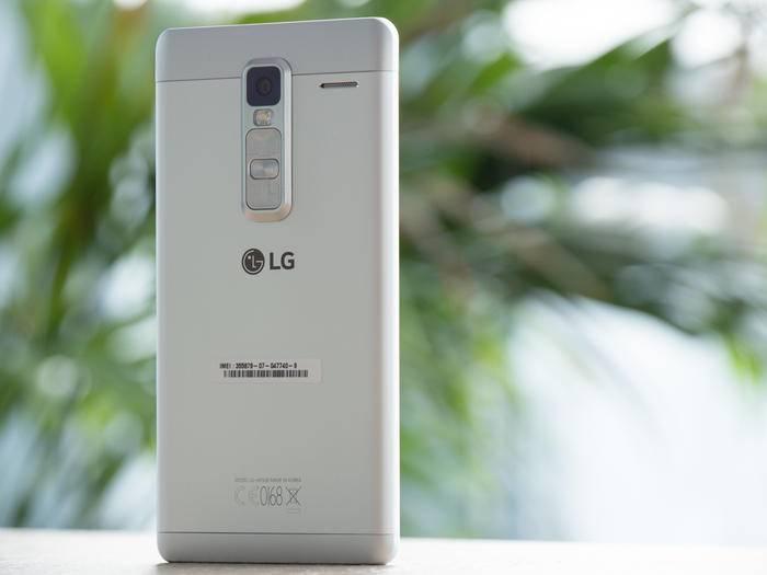 Das LG Class ist das erste Metall-Smartphone der Südkoreaner.