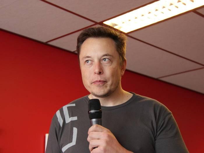 Freut sich auf die Konkurrenz durch Apple: Tesla-Chef Elon Musk.