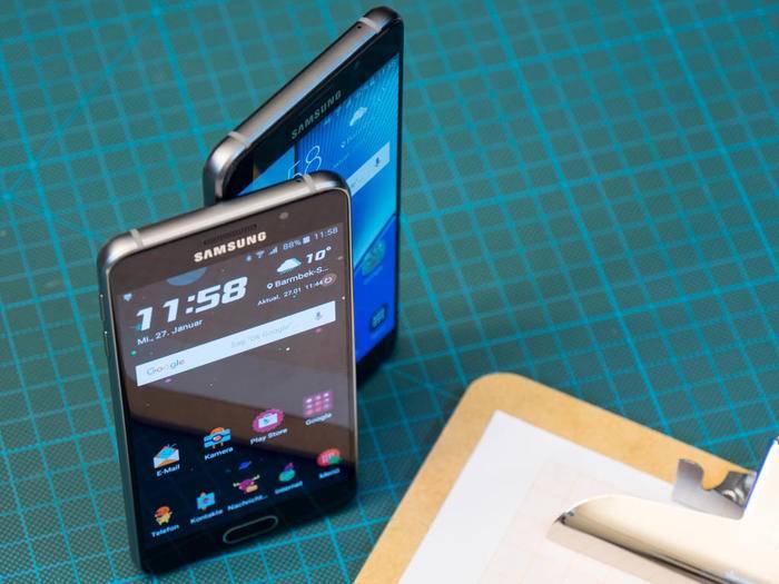 Die zwei Neuen von Samsung: Galaxy A3 und Galaxy A5.