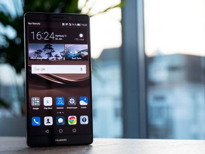 Das Huawei Mate 8 fand Ende Januar 2016 auch den Weg nach Deutschland.