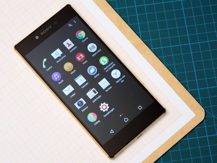 Das Sony Xperia Z5 Premium will mit seinem Display glänzen. Kann es das?