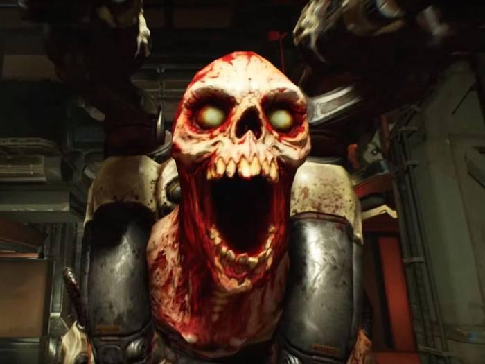 """""""Doom"""" erscheint am 13. Mai für PS4, Xbox One und PC."""