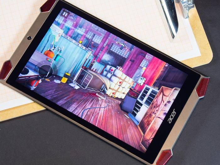 Das Acer Predator 8 will ein Tablet für Gamer sein.