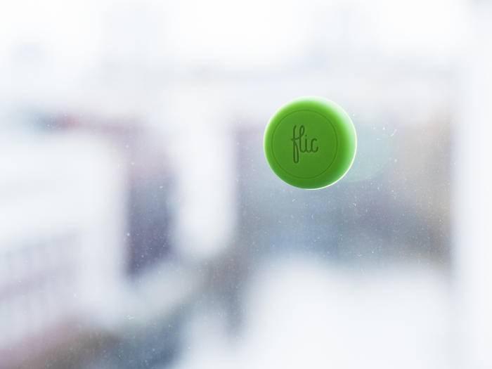 Der Flic-Button dient zur Steuerung diverser Aktionen.