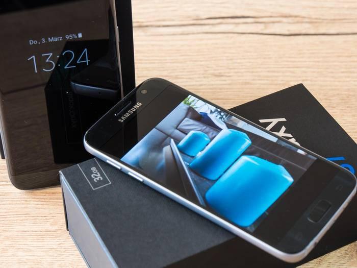 Das Samsung Galaxy S7 hat dem iPhone 6s in einige Features voraus.