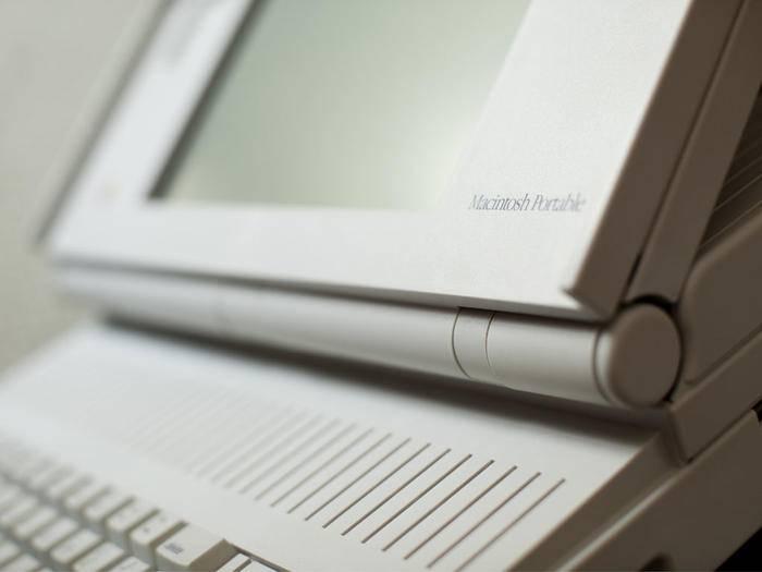 Der Macintosh Portable war seinerzeit einer der teuersten Heim-PCs.