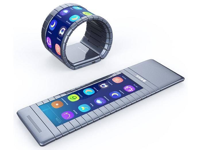 Das erste biegsame Smartphone kommt aus China.