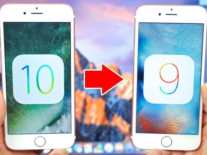 So funktioniert der Downgrade von iOS 10 auf iOS 9.