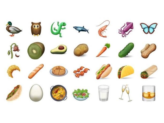 Endlich neue Emojis, jetzt mit Bacon!