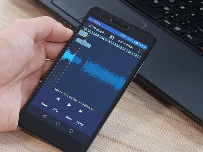 Für Dein Android-Smartphone kannst Du ganz leicht neue Klingeltöne erstellen.