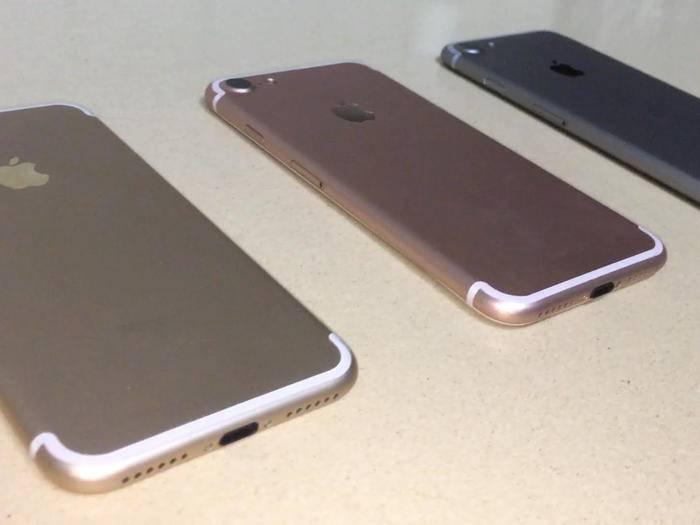 Ein neuer Tag, ein neuer iPhone 7-Dummy.