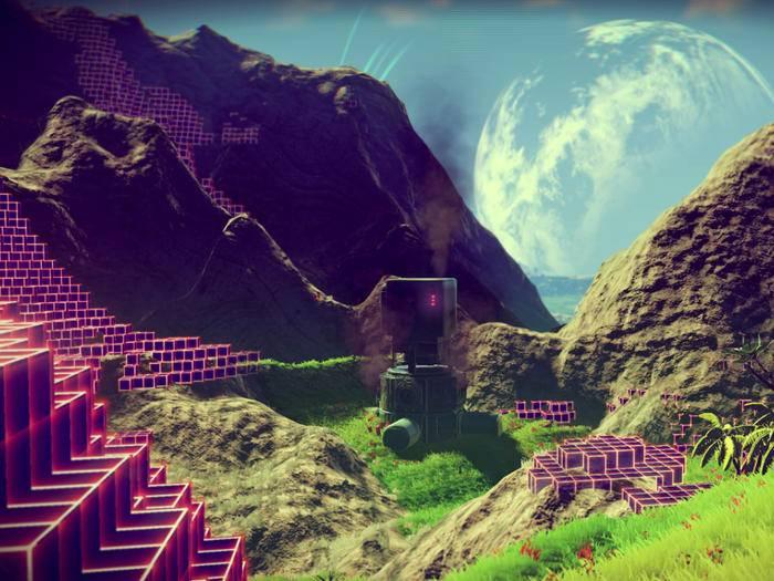"""""""No Man's Sky"""" lockt mit einer unendlichen, prozedural generierten Spielwelt."""