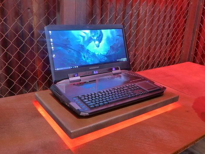 Der Acer Predator 21X ist ein echtes Gaming-Monster.