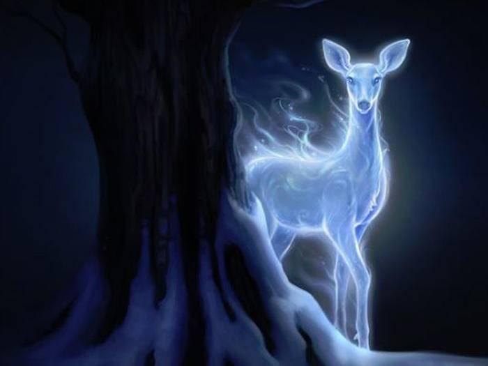 Lily Potters Patronus hatte die Gestalt einer Hirschkuh.