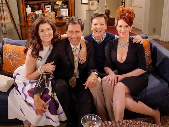 """Guess who's back: """"Will & Grace"""" kehren ins Fernsehen zurück."""