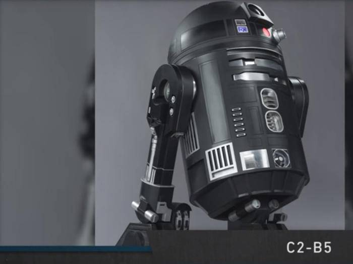 "R2-D2s dunkler Zwilling: C2-B5 aus ""Star Wars: Rogue One"""