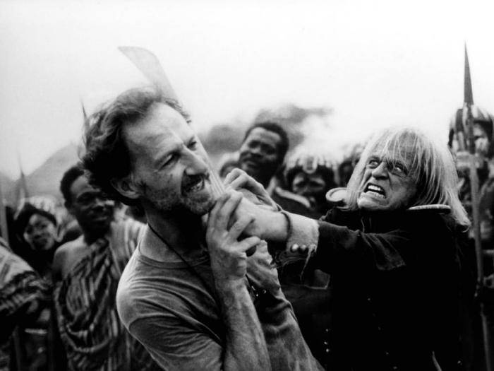 Klaus Kinski und Regisseur Werner Herzog waren nicht immer ein Herz und eine Seele.