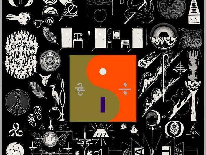 """Mysteriöse Zeichen: Bon Ivers neues Album """"22, A Million"""" geizt nicht mit Seltsamkeiten – im Cover wie im Sound."""