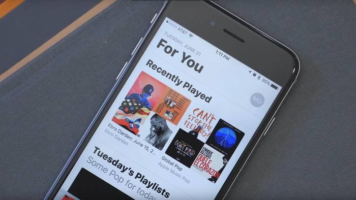 Wir erklären die überarbeite Musik-App von iOS 10.