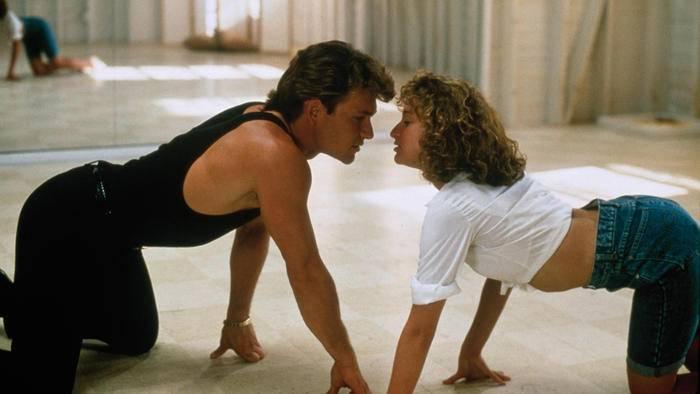 """Wer hätte bei diesem Anblick gedacht, dass sich die """"Dirty Dancing""""-Stars nicht ausstehen konnten?"""