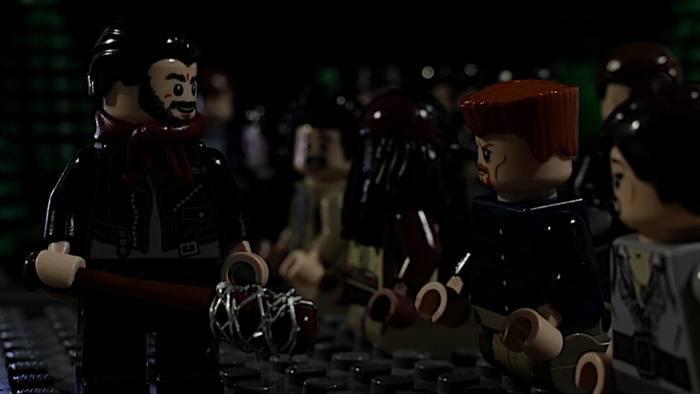 "Selbst als Lego-Figur wirkt ""The Walking Dead""-Fiesling Negan gnadenlos."