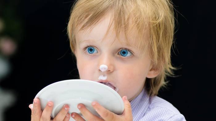 Nicht nur Kinder lecken in Deutschland ihre Teller sauber.