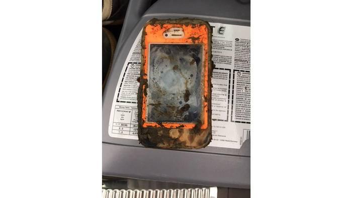 Auch dank des Cases dürfte das iPhone 4 überlebt haben.