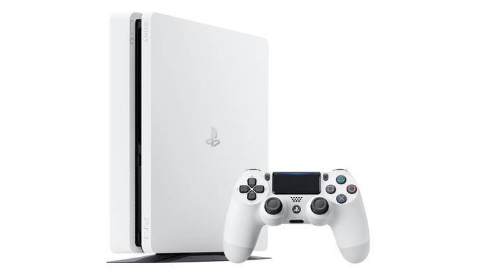 """Die PS4 Slim gibt es bald auch in """"Glacier White""""."""