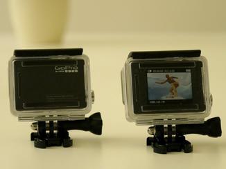 Einer der großen Unterschied der Kameras: Nur die Silver Edition hat ein Display auf der Rückseite.