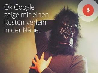Affig: Die Sprachbefehl-Suche Okay Google landet auf der 8.