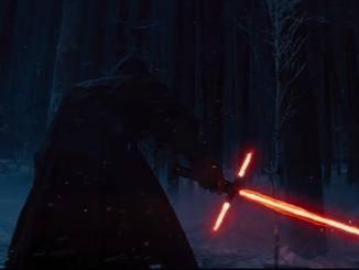 Jedi-Ritter mit Lichtschwert