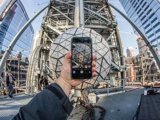 Für die Aufnahmen nutzte Quintano auch ein iPhone 6 Plus.