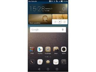 Alle Apps kommen beim Ascend Mate 7 auf den Homescreens unter.