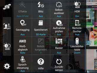 """In der Kamera-App findet sich unter den Einstellungen der Menüpunkt """"Speicherort""""."""