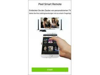 Per Smart Remote kannst Du Deinen Fernseher mit dem Handy bedienen.
